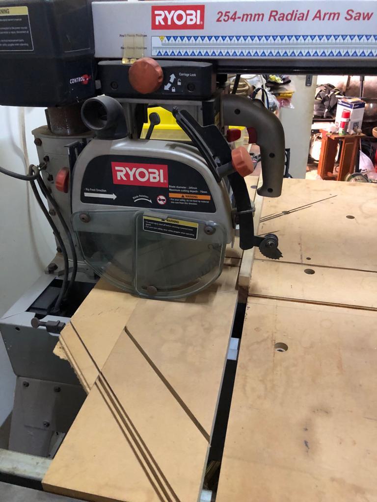 Ryobi Radial Industrial Arm saw