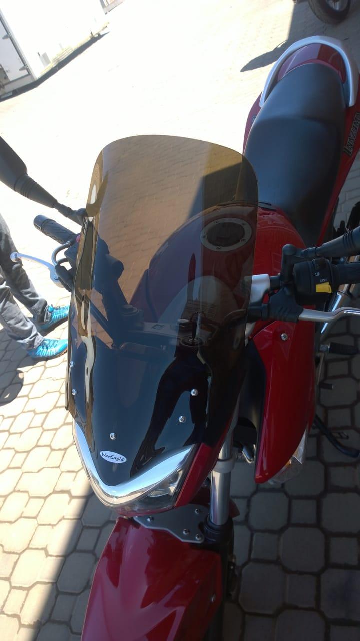 War Eagle Racing Motorcycle Screens and Fairings Custom made Screen