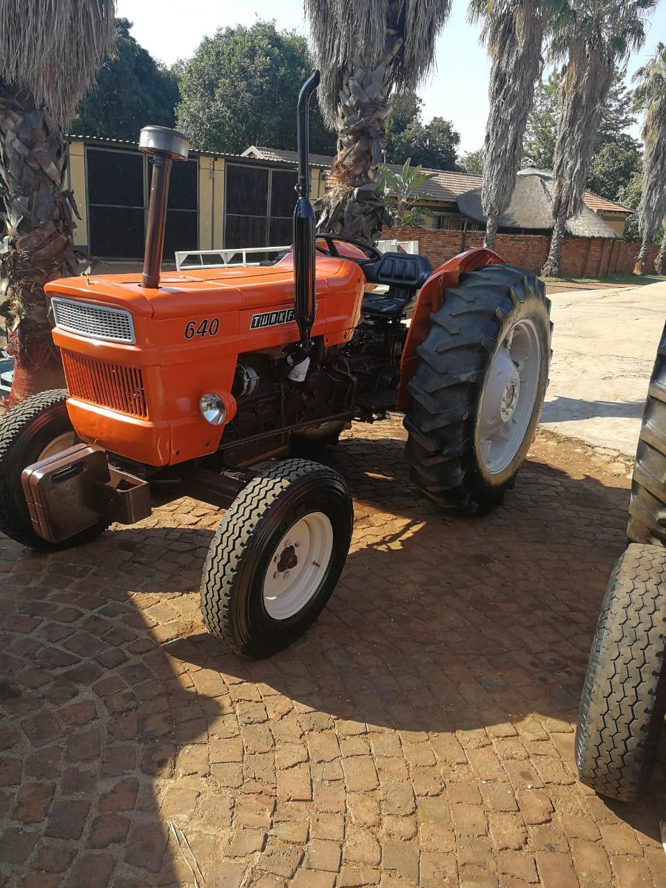 Fiat 640 tractor