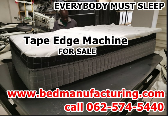 Tape Edge Bed machine for sale