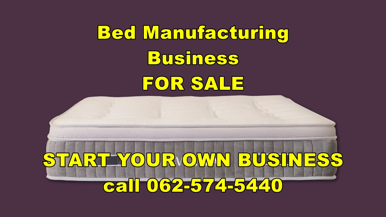 Bed Factory for sale R140 000 For Sale