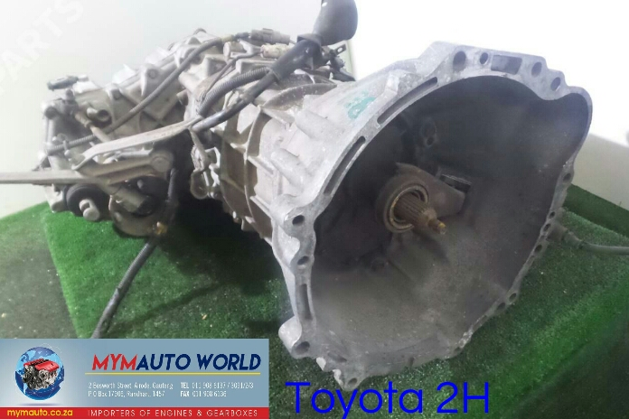 Imported used TOYOTA 2H 4X4 gearboxes Complete