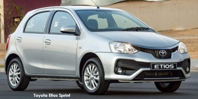 2019 Toyota Etios hatch 1.5 Sprint