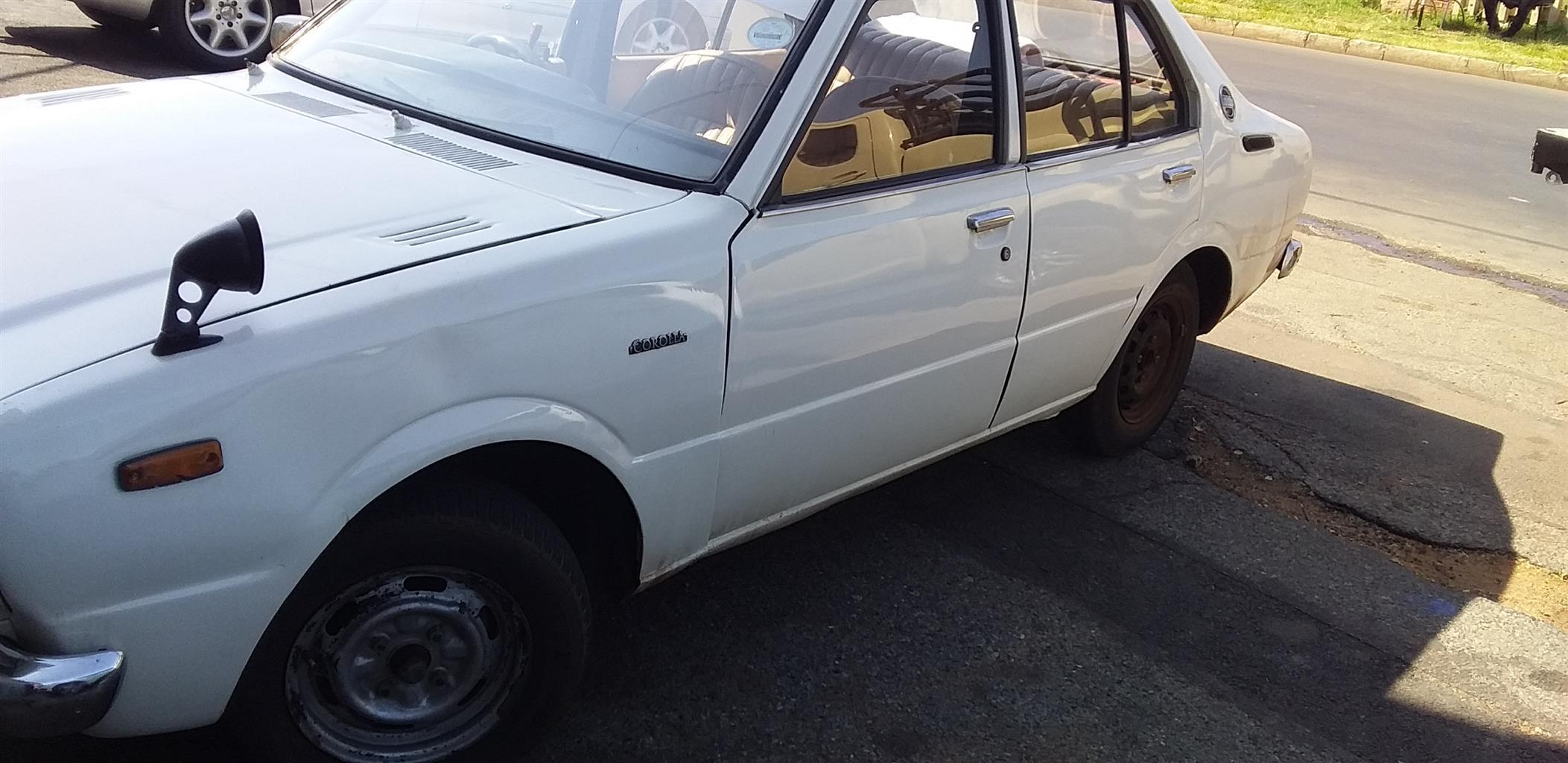 1970 Toyota Corolla 1.6 Advanced
