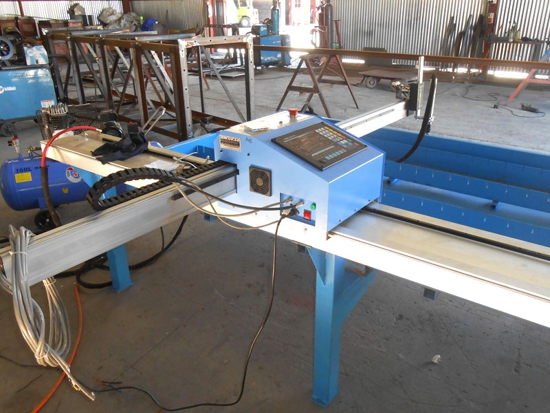 P-0606P MetalWise Lite CNC Plasma/Flame Dry/Water Cutting Table 600x600mm, Stepper Motor