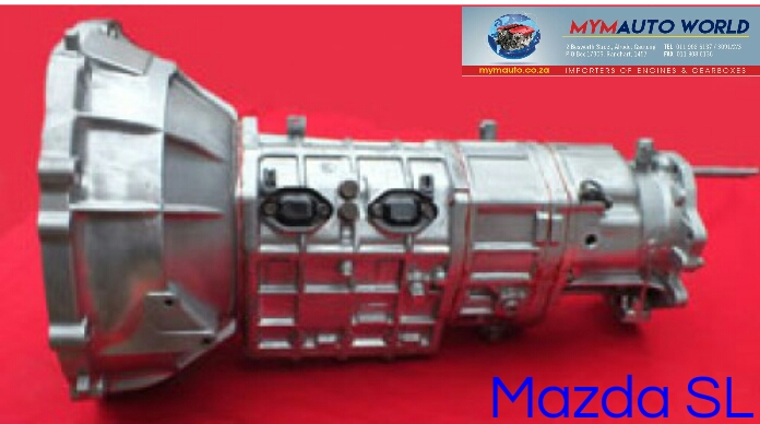 Imported used MAZDA SL gearbox Complete
