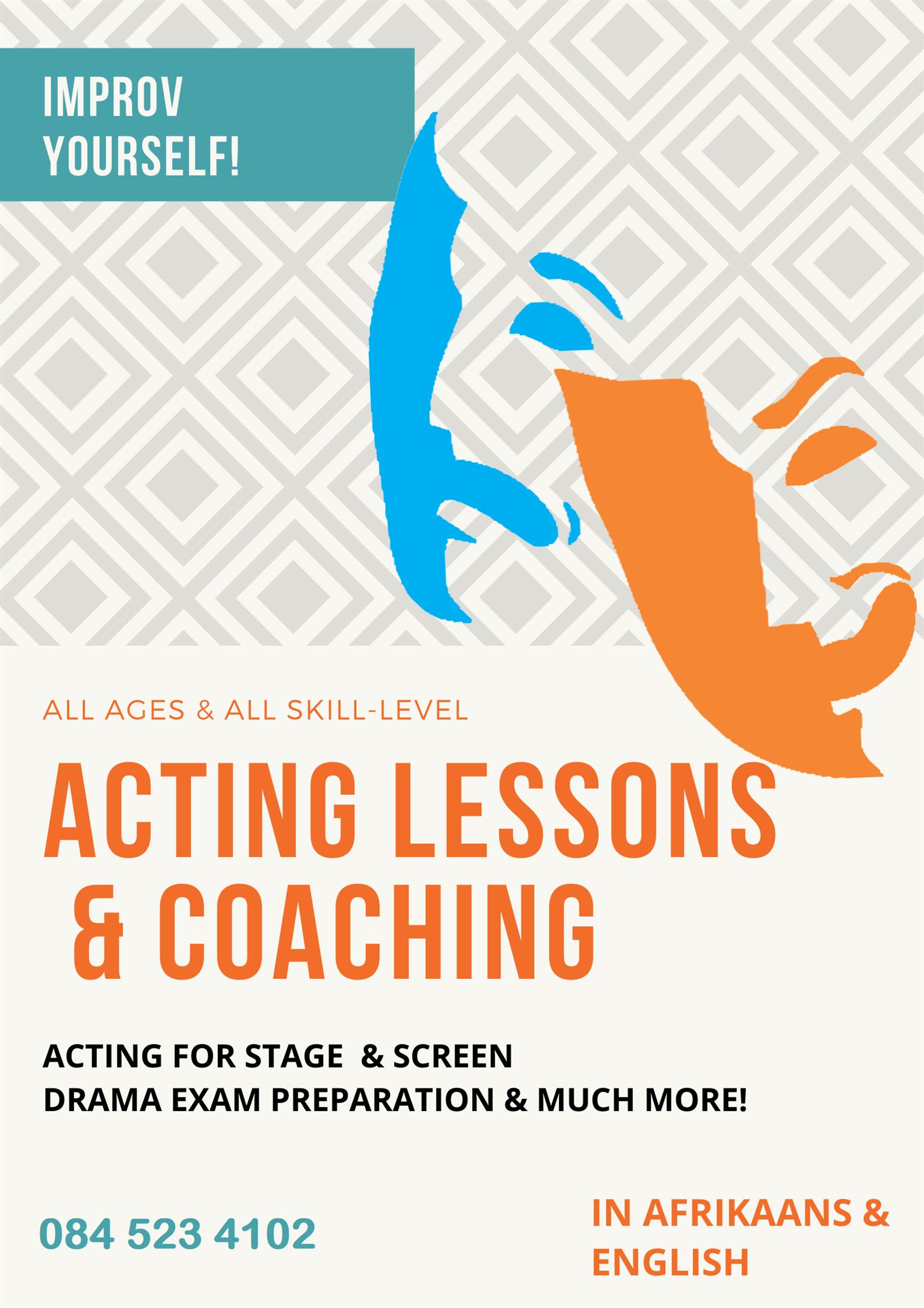 Acting lessons and Coaching