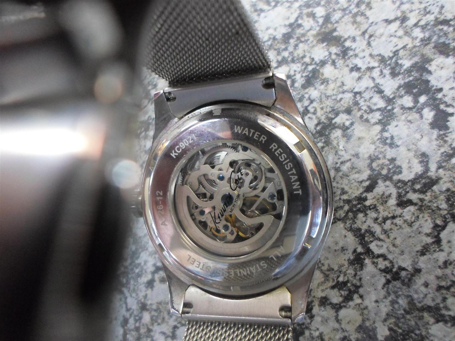 Kenneth Cole Stainless Steel Watch