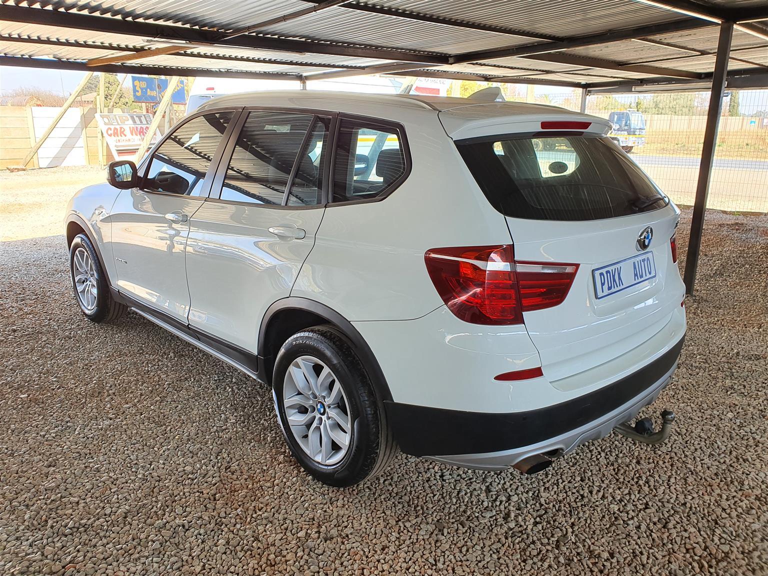 2012 BMW X3 X-Drive 2.0 Twin Turbo Powered 4x4