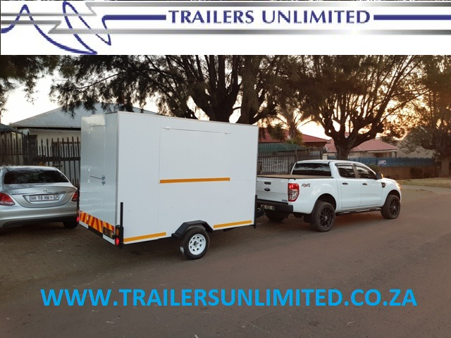 TRAILERS UNLIMITED 2500 X 1800 X 2000 MOBILE KITCHENS. ONLY THE BEST QUALITY EQUIPMENT IN OUR UNITS.