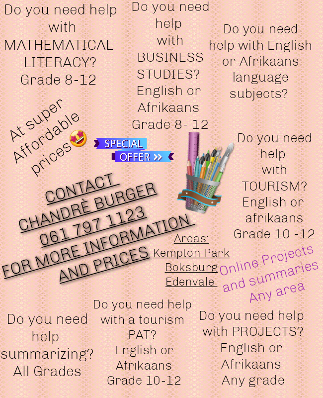 Need help with school projects or summaries?