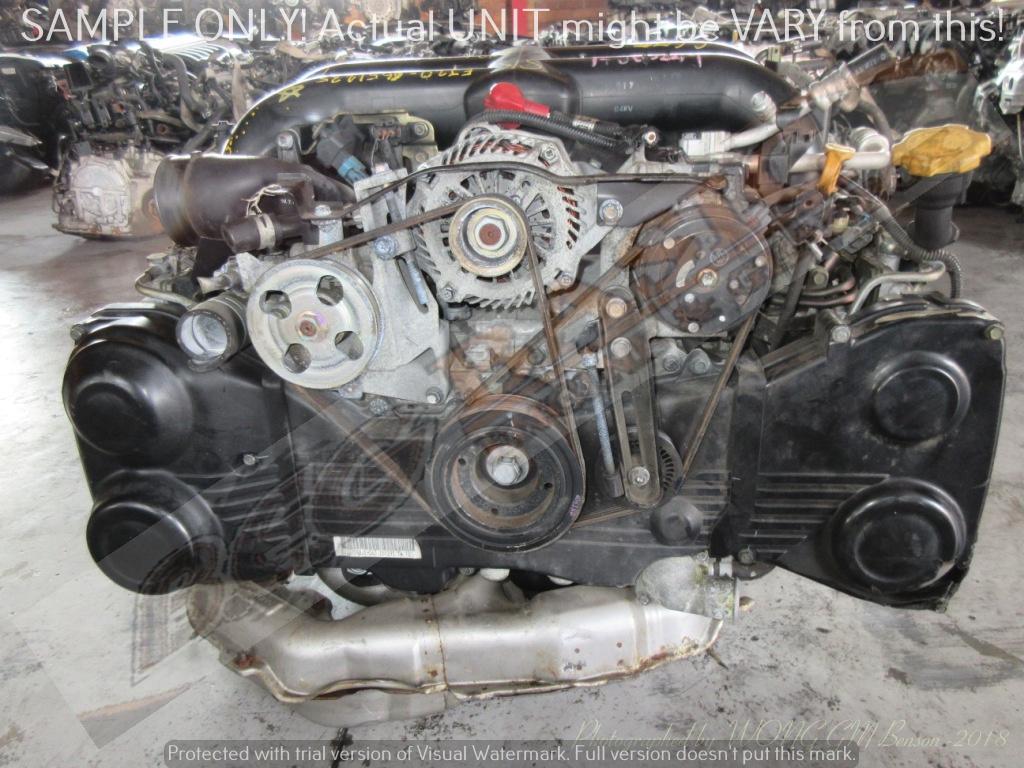 SUBARU -EJ20 2.0L SINGLE TURBO VVTI Engine -Plastic Intake Manifold