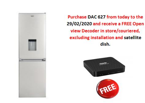 Defy Combo Fridge/Freezer C330 ECO WD M DFC 425 DAC 627