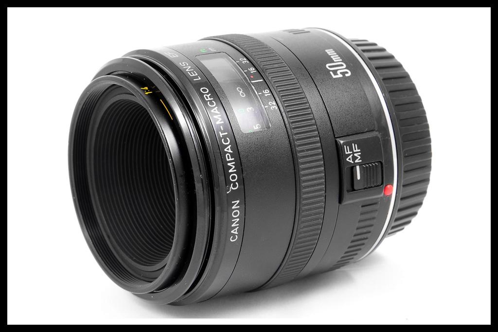 Canon EF 50mm f/2.5 Compact Macro