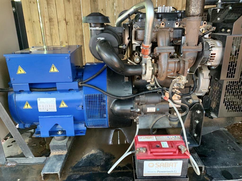 33 KVA Generator. Perkins Engine, Marelli Altenator & Deep Sea Controller.