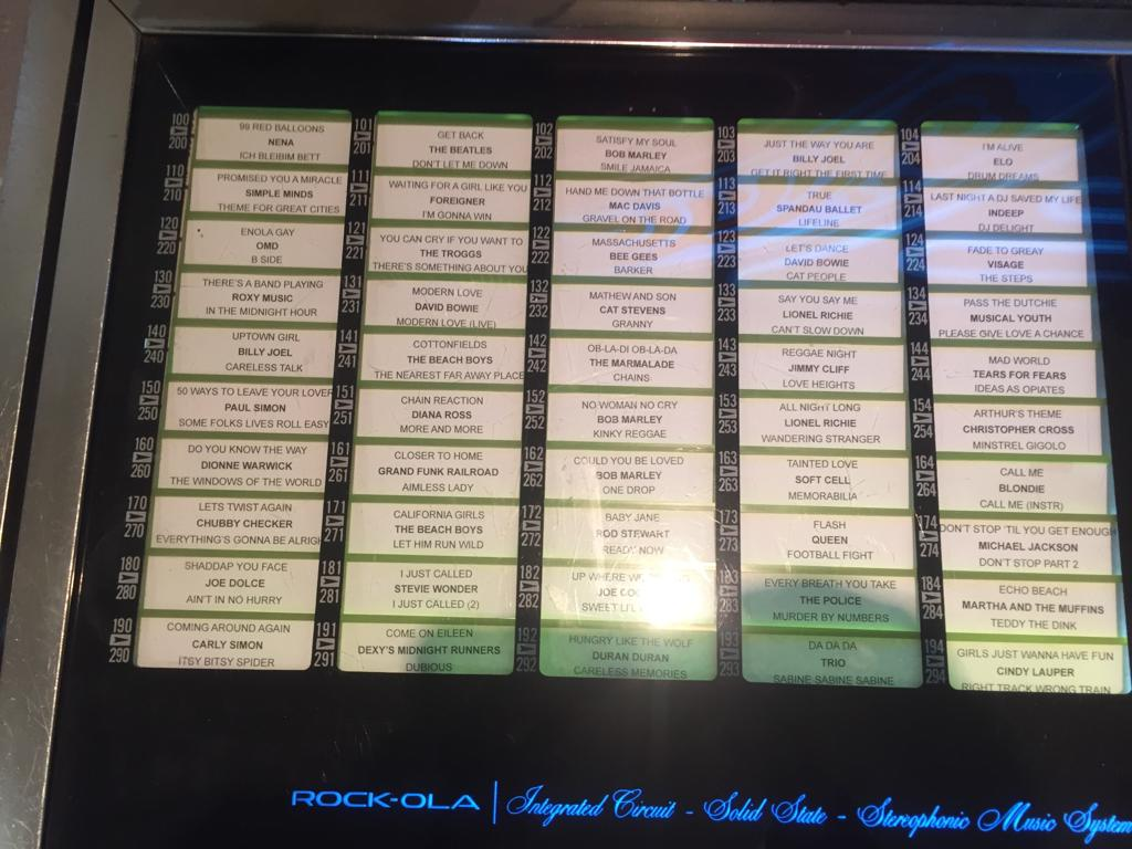 Rock-Ola Jukebox 463, in excellent condition