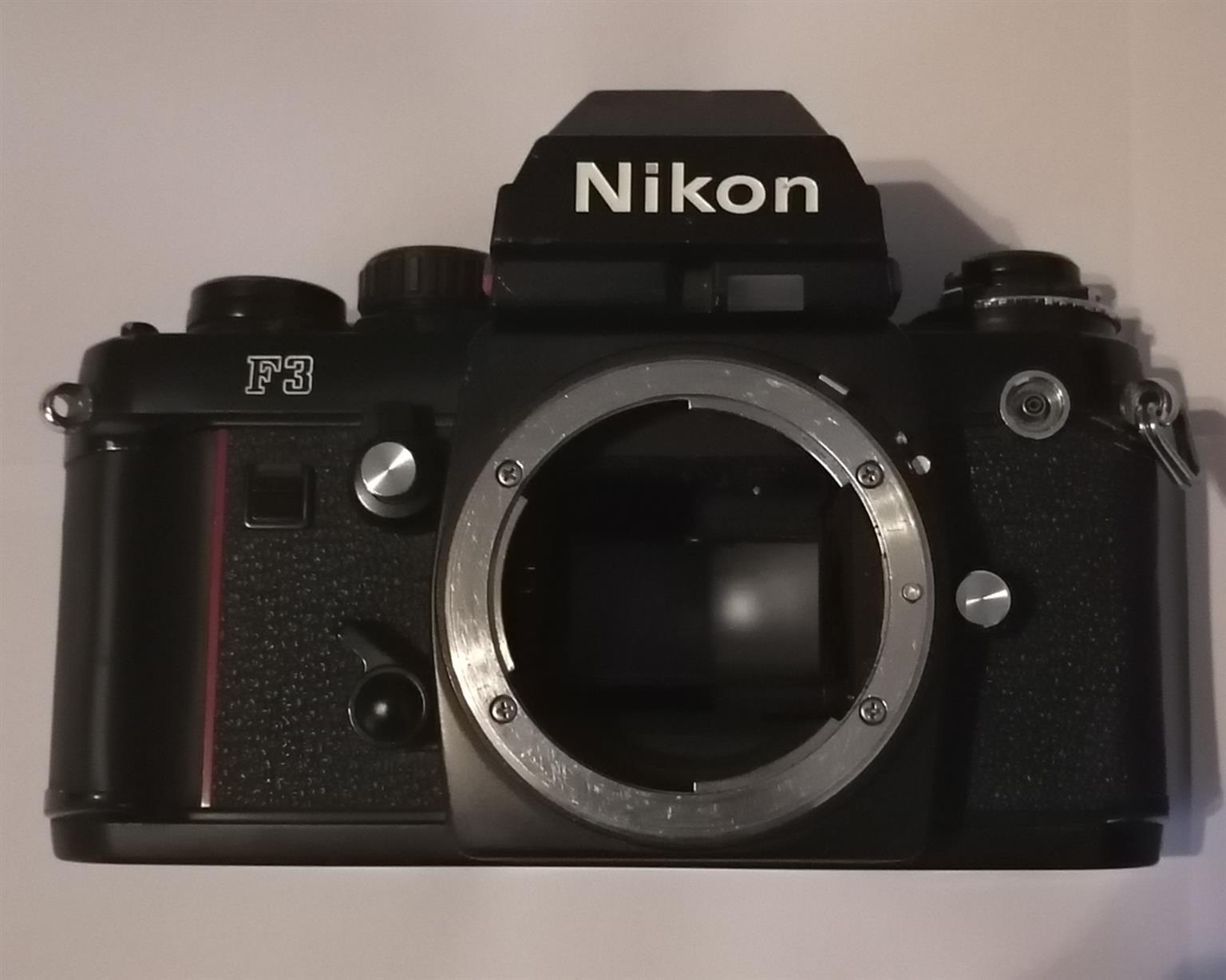 Nikon F3 Black SLR vintage 35mm film camera body only