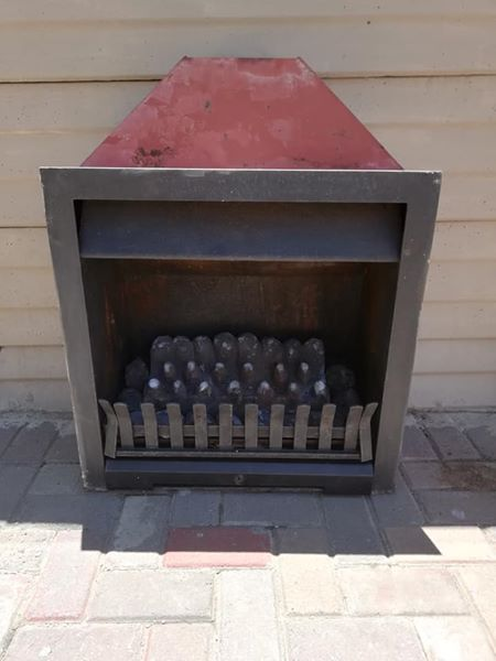 Jetmaster 550 delux gas build in fireplace for sale