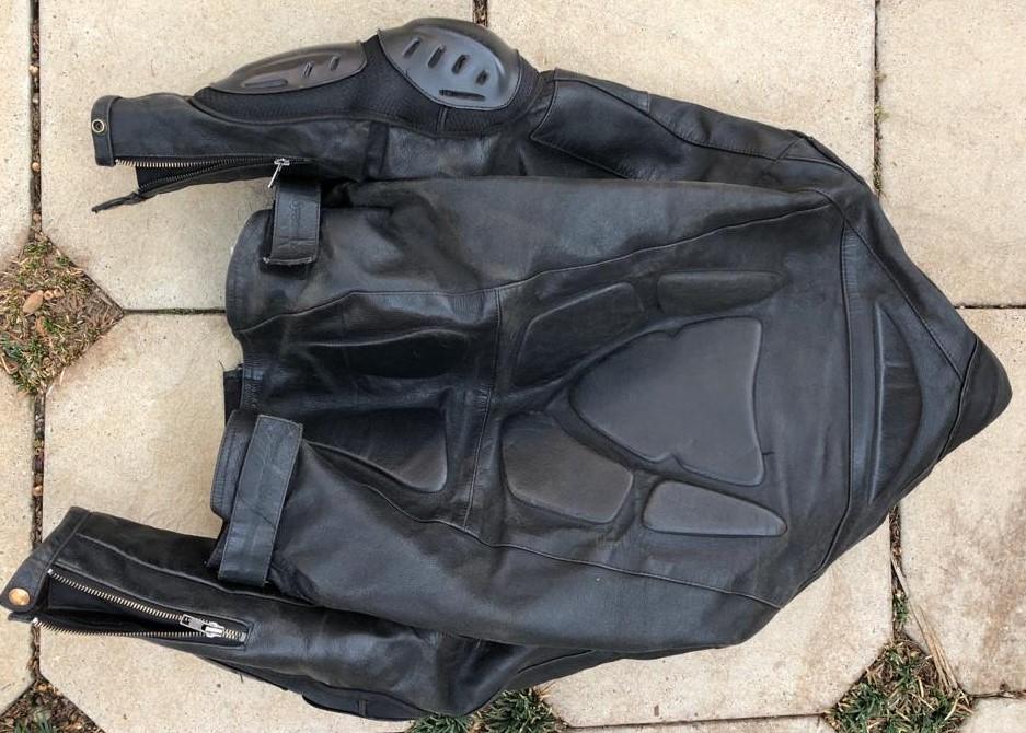 Motorbike Helmet and Jacket for Sale