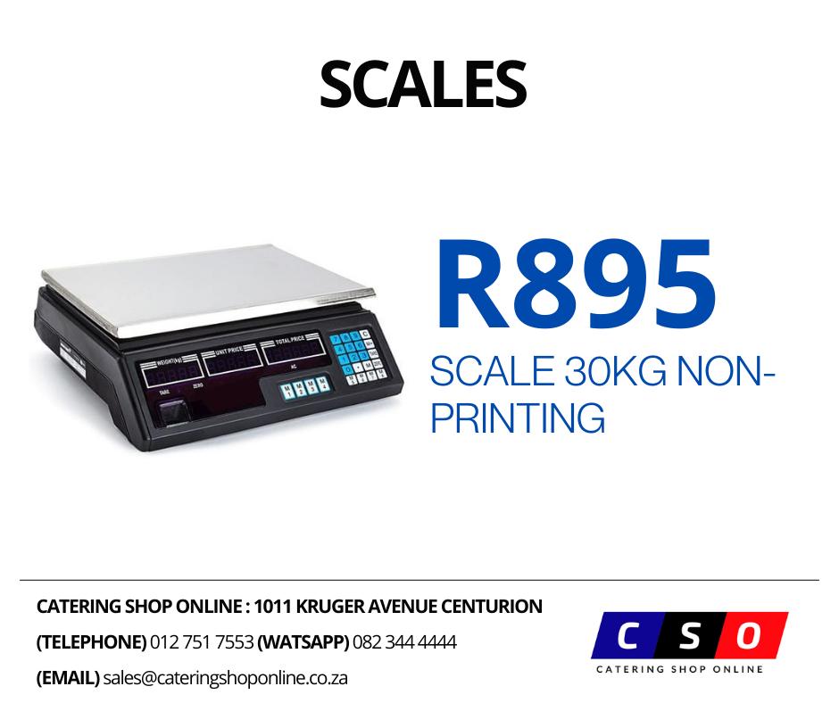 Scale 30Kg Non Printing