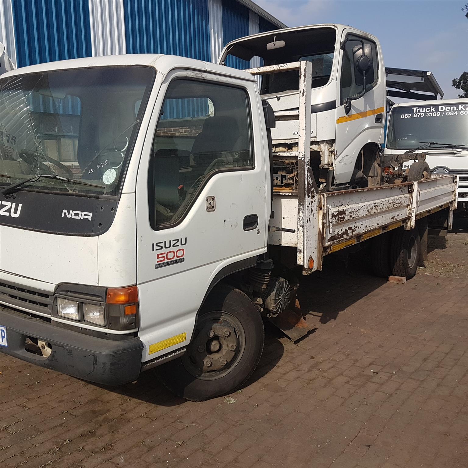 Isuzu Nqr 500 Truck Stripping 4 Spares 4he1t Engine 6 Sp Gear 4he1 Diagram Box