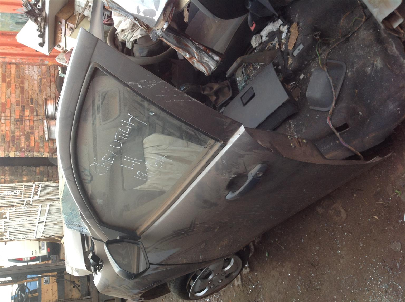 Stripping Chevrolet Utility 2013 for Spares