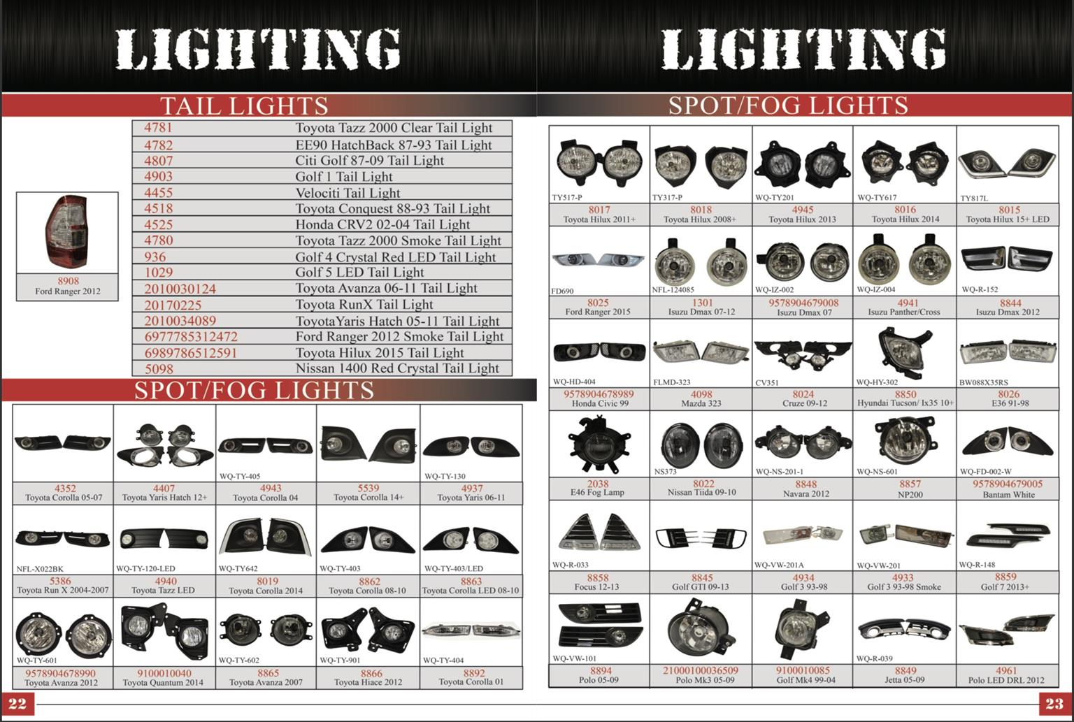 LED Lights and other Auto Styling available at warehouse prices