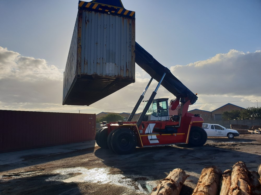 Reach Stacker (Container Handler) Port Elizabeth