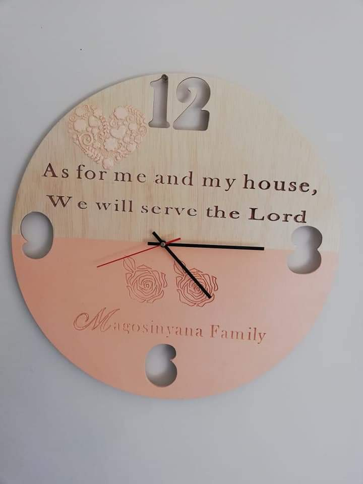 Wood Cutting and Personalised Wood Craft
