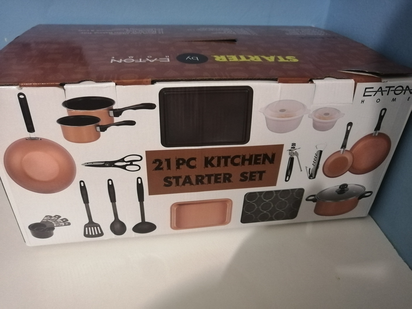 21 Piece kithcen starter kit