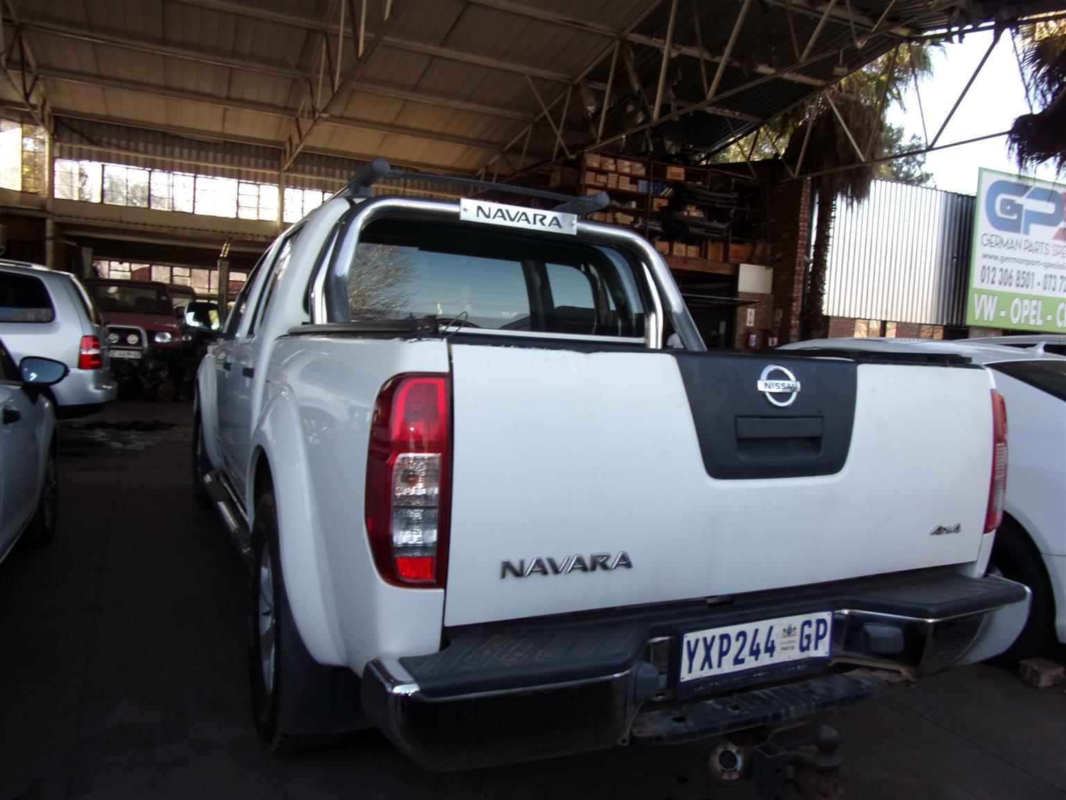 Nissan Navara 2.5dCi double cab 4x4 LE