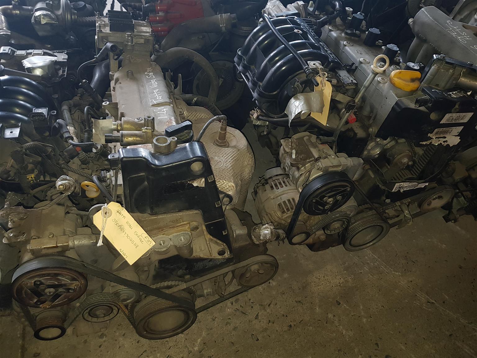 Tata Visita Safire 1 4i and Tata Indigo 1 4 engines for sale