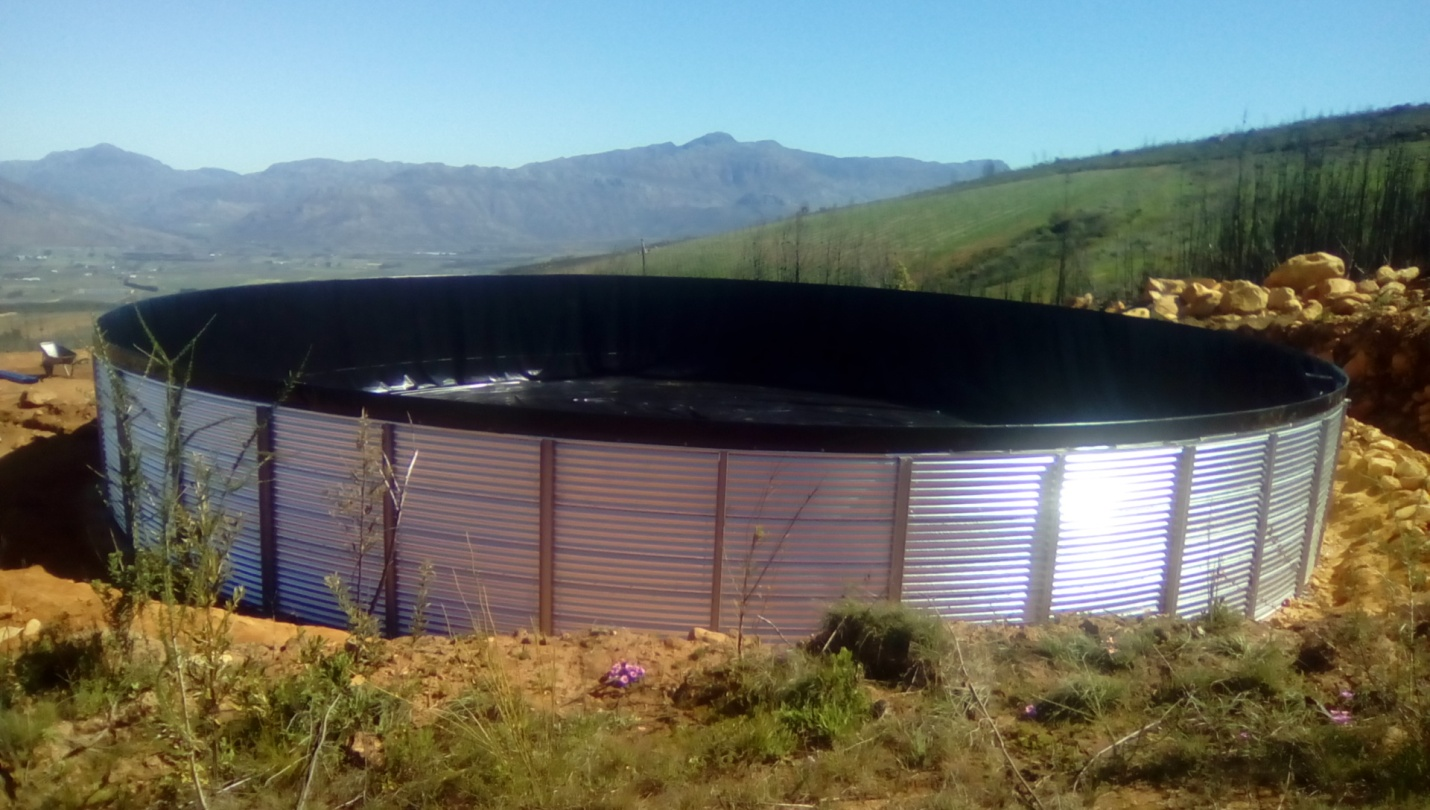 Corrugated Dams