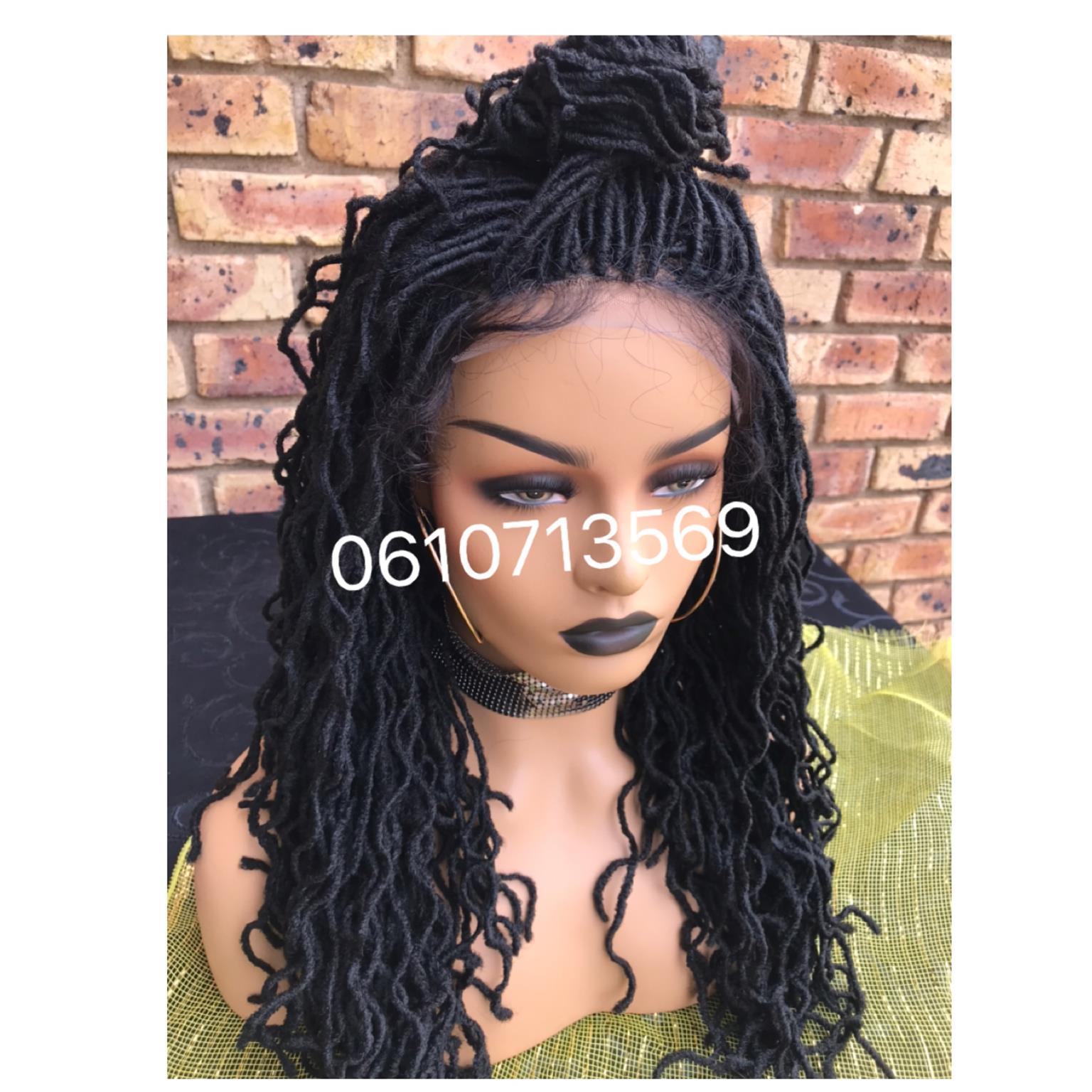 Stunning dreadlocks wig with soft baby hair