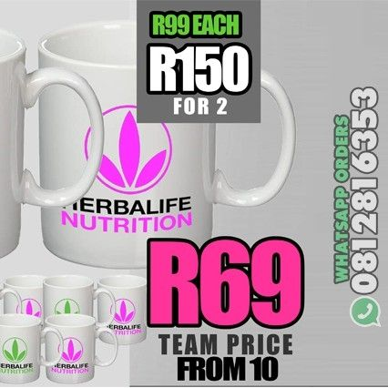 Herbalife Mugs (R150 Two)