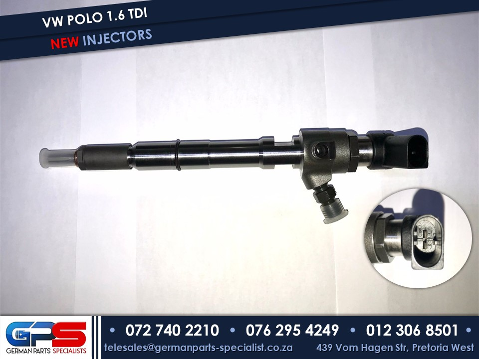 Volkswagen Polo 1.6 TDI New Diesel Fuel Injector & Used Spares