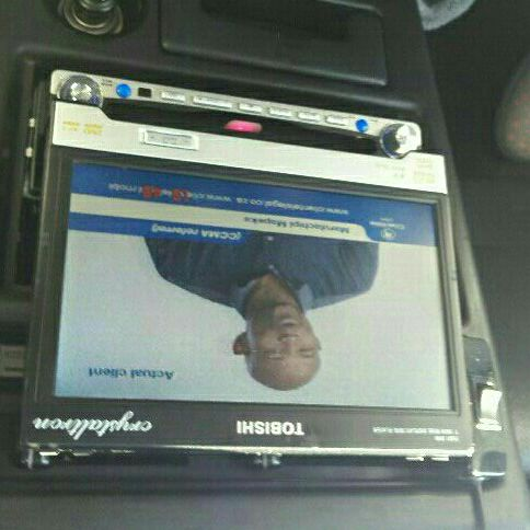 Dvd player with built-in tv
