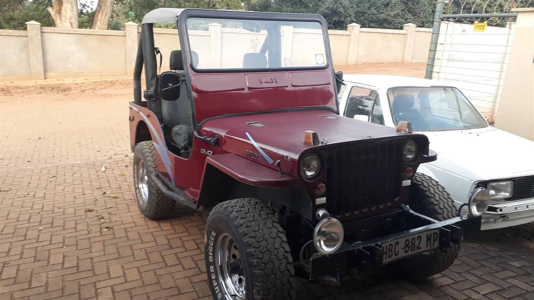1992 Jeep Willys