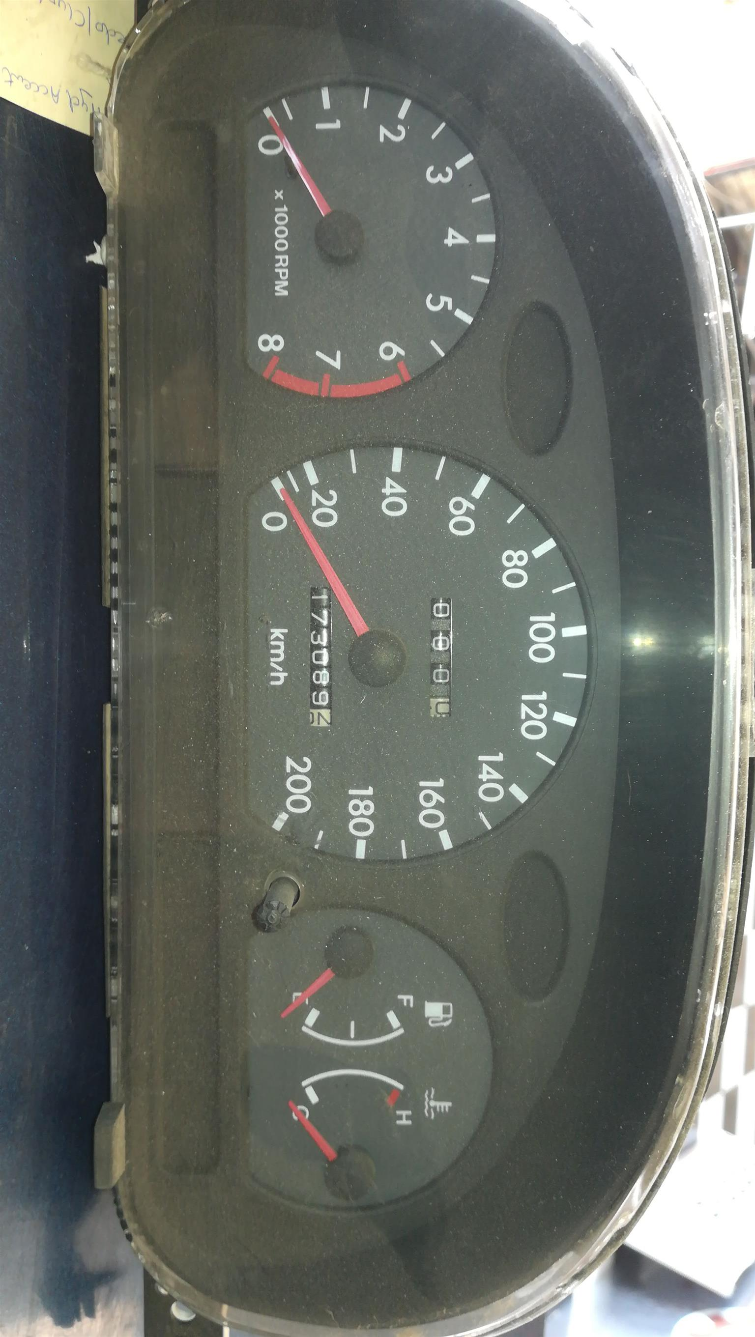 KIA Rio 3 2006 model speedo cluster