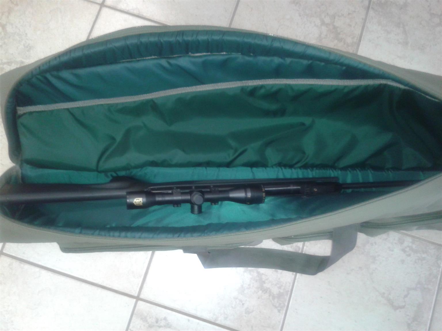 Custom made rifle and hand gun bags