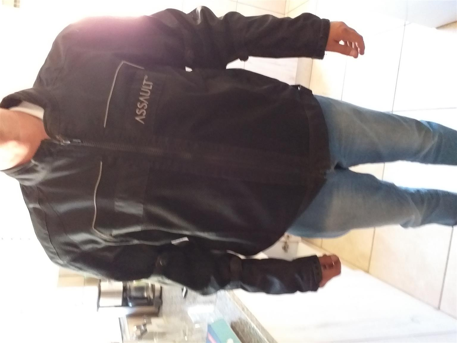 Italian Leather bikers jacket