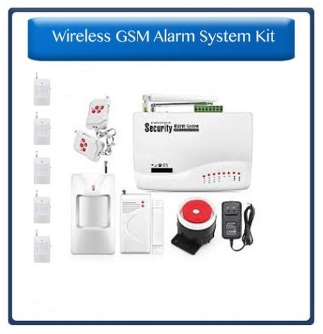 WIRELESS GSM ALARM KITS