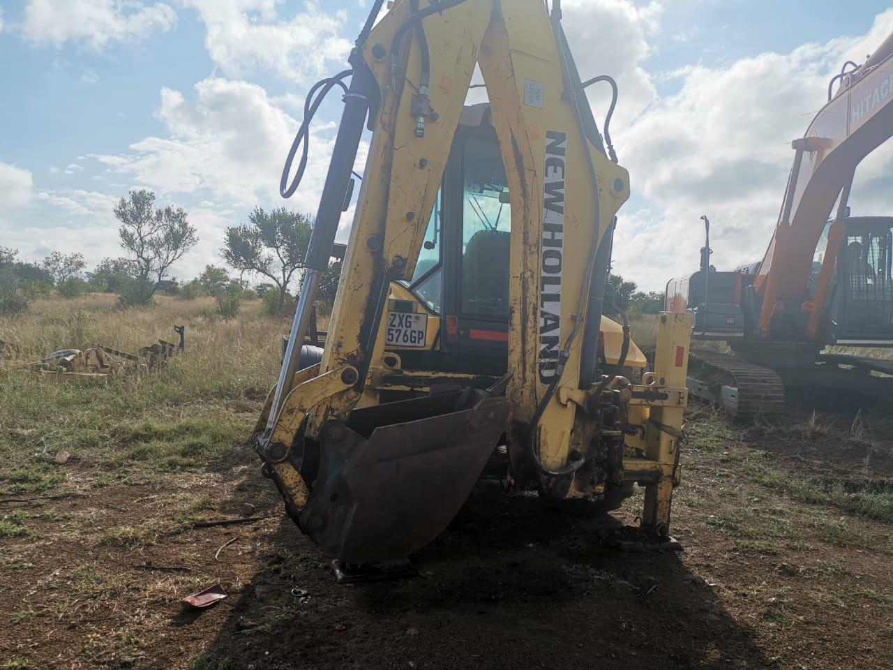 New Holland B110b 4x4 TLB