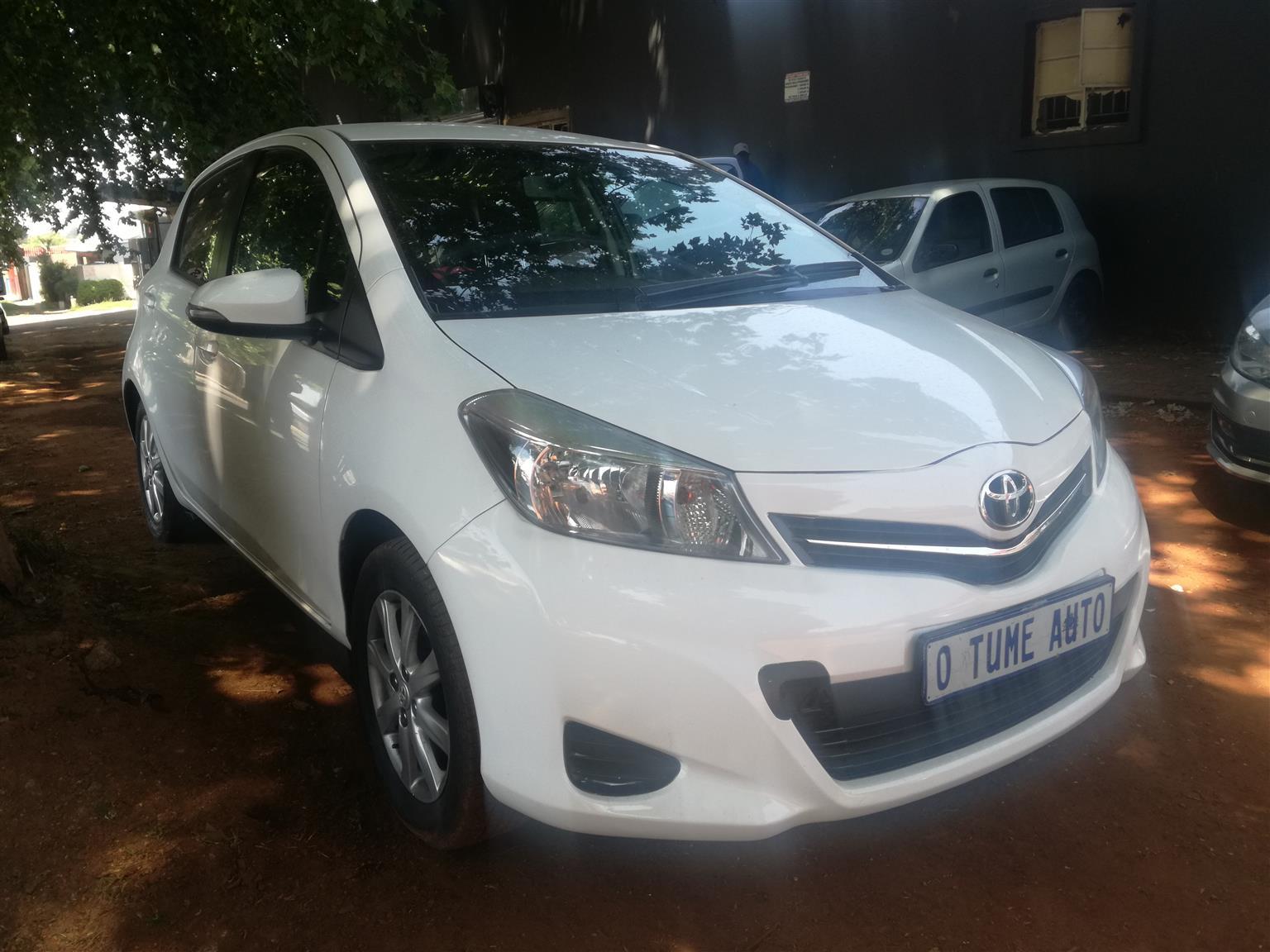 2014 Toyota Yaris 1.3 T3 5 door