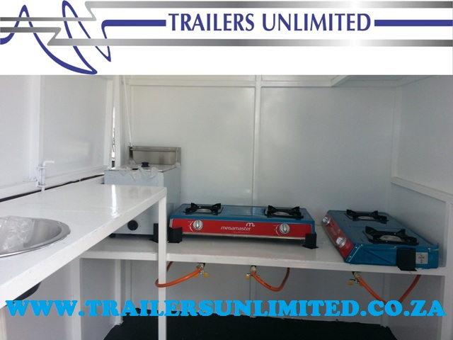 BUDGET MOBILE KITCHEN FROM R19900 1800 x 1600 X 2000 MOBILE KITCHEN.