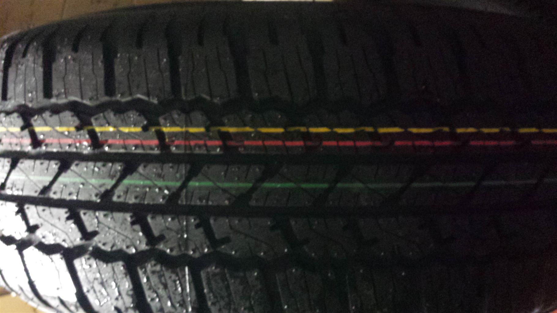Tyres. 265.65.17 NEW