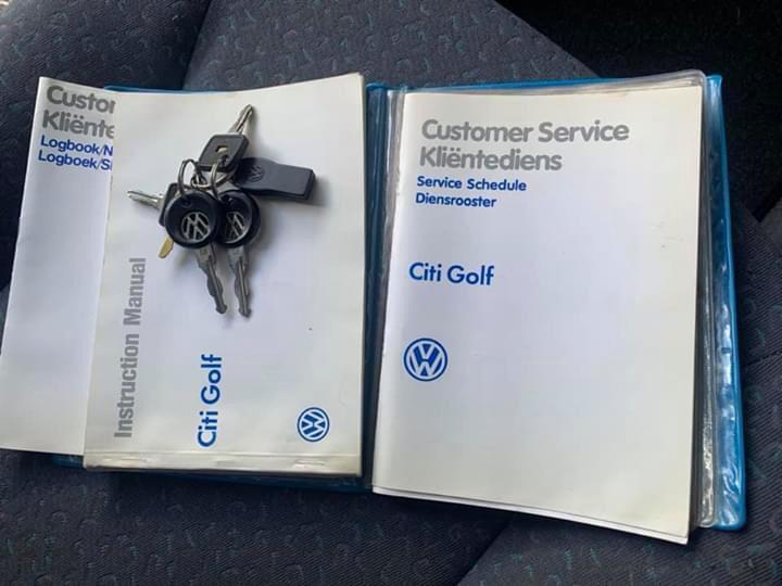 1996 VW Citi CITI CHICO 1.4i