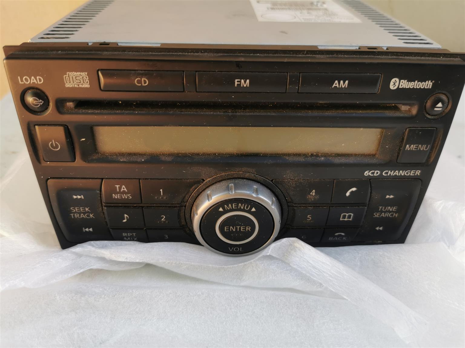 Navara replacement radio