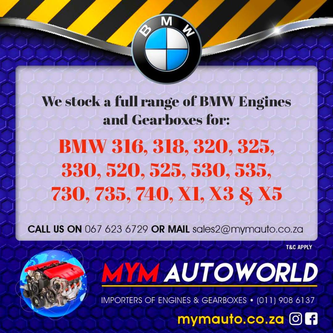 BMW E36 SOHC 4 CYL ALUMINIUM engine