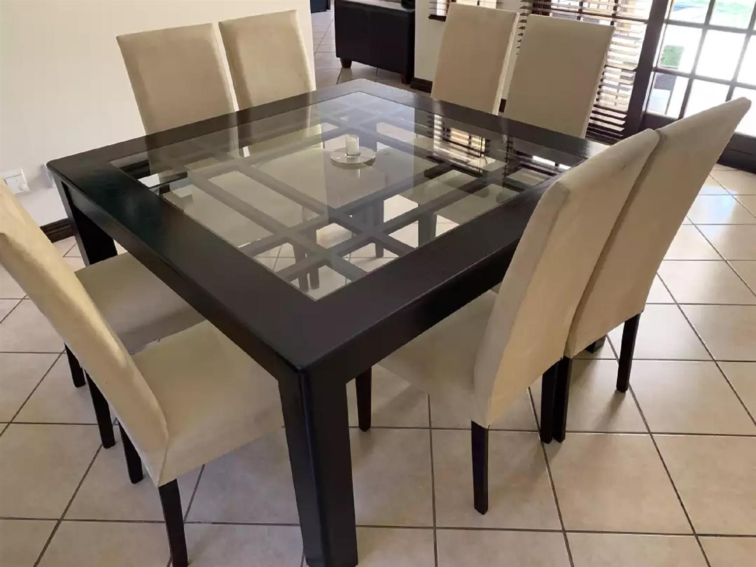 8 Seater Square Dinning Room Set Junk Mail